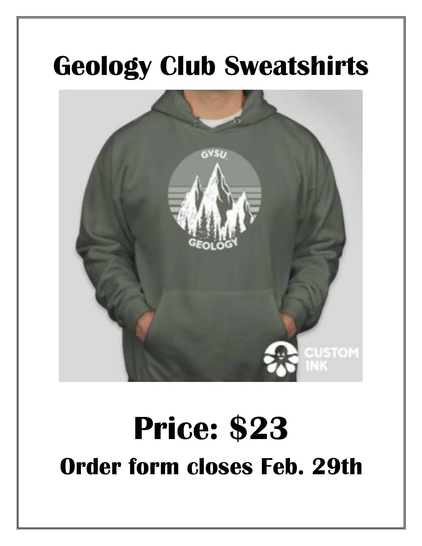 Geology Club Sweatshirt